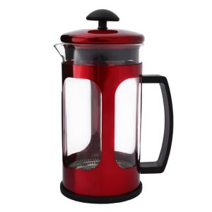 Coffee Plunger 1 Litre - Metallic Red
