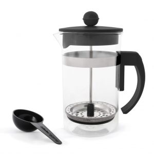 Coffee Plunger 600ml - Black