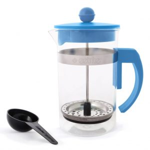 Coffee Plunger 600ml - Blue