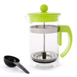 Coffee Plunger 600ml - Green