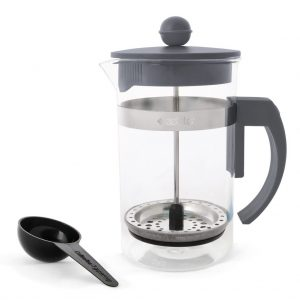 Coffee Plunger 600ml - Light Grey