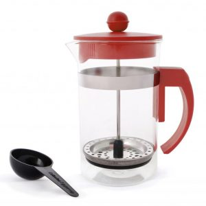 Coffee Plunger 600ml - Red